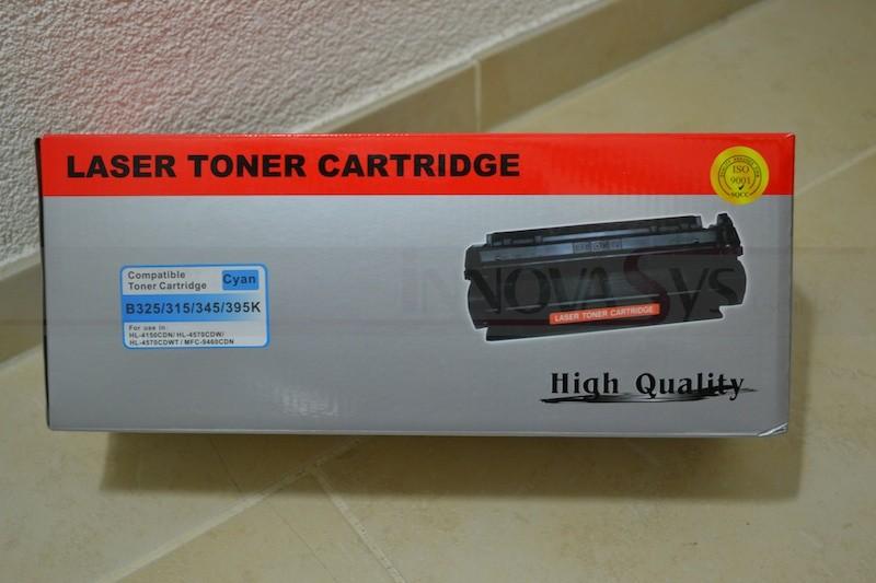 Brother TN-325 Toner Kompatible Tonerpatrone Cyan (3500 Seiten)