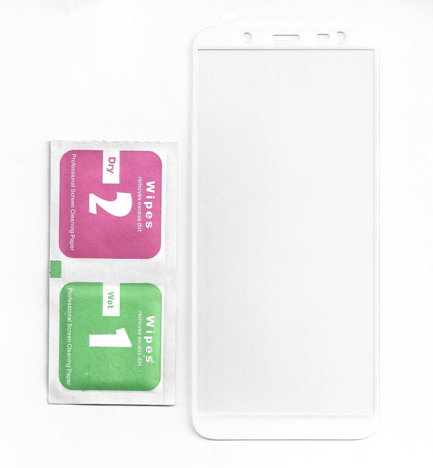 HQ Premium Panzer Schutzfolie / Display-Schutzglas 3D 9H passend für Samsung Galaxy J6 (2018)