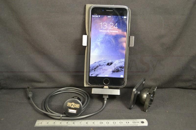 Kram Fix2Car aktiv Halter für Apple Iphone 6 mit Cover