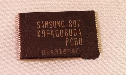Nand Speicher Samsung 512 MB IC K9F4G08U0A passend für Wii