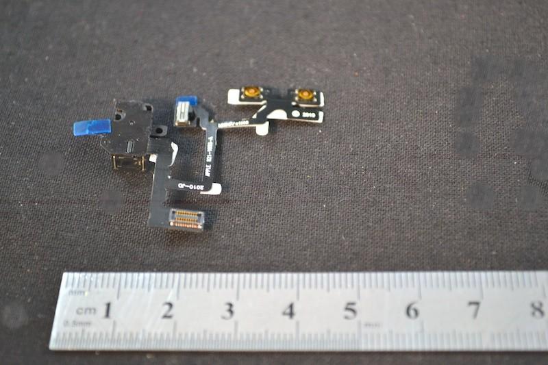 Kopfhörerbuchse schwarz mit Kabel für iPhone 4