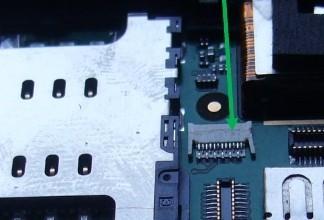 FPC Connector Buchse 3 (für Sensor) für iPhone 3G/3GS