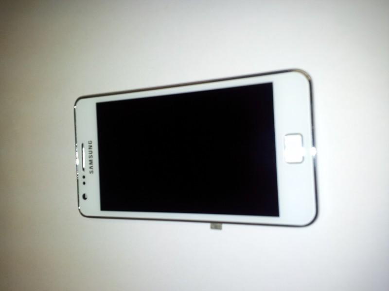 Display für Samsung Galaxy S2 (i9100) Touchscreen, LCD + Rahmen in weiss