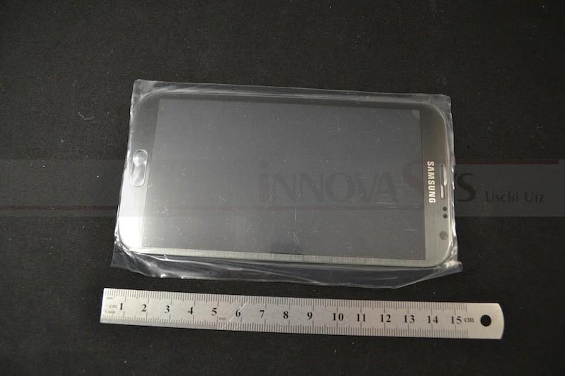 Frontscheibe für Samsung Galaxy Note 2 (N7100) in titanium grau