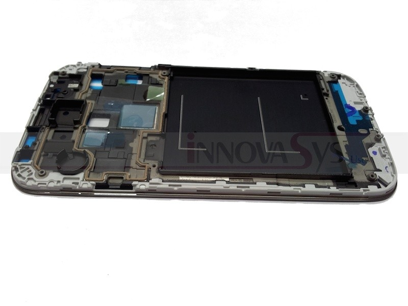 Frontrahmen für Samsung Galaxy S4  i9505 in silber