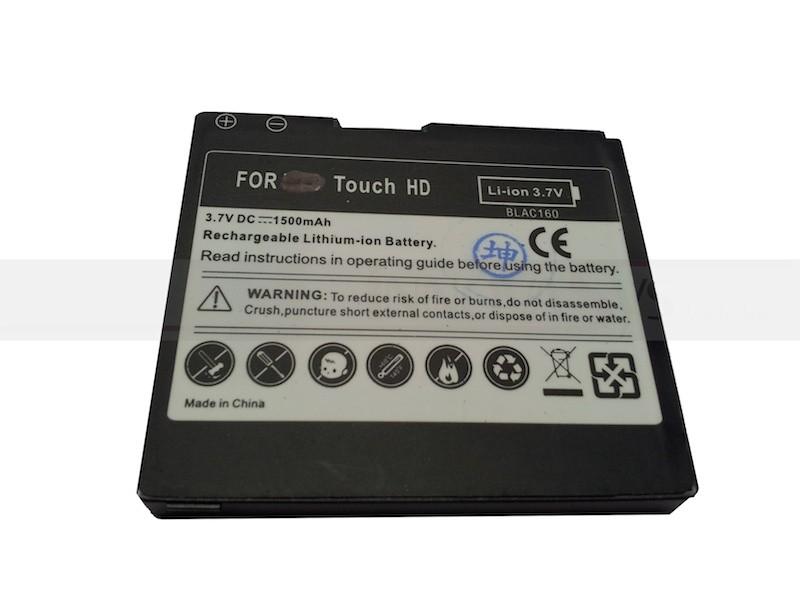 Akku / Batterie für HTC Touch HD, Pro HD, Blackstone BLAC 160