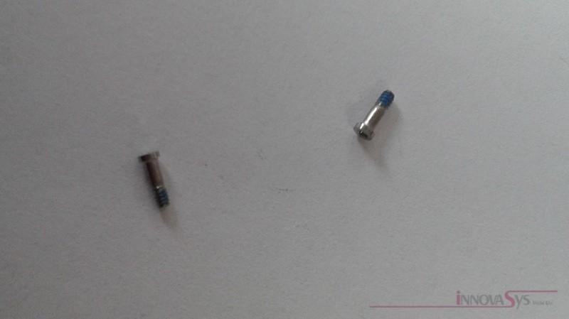 Pentalobe Schrauben für Backcover iPhone 6/6+ weiß,  Set mit 2 Stück