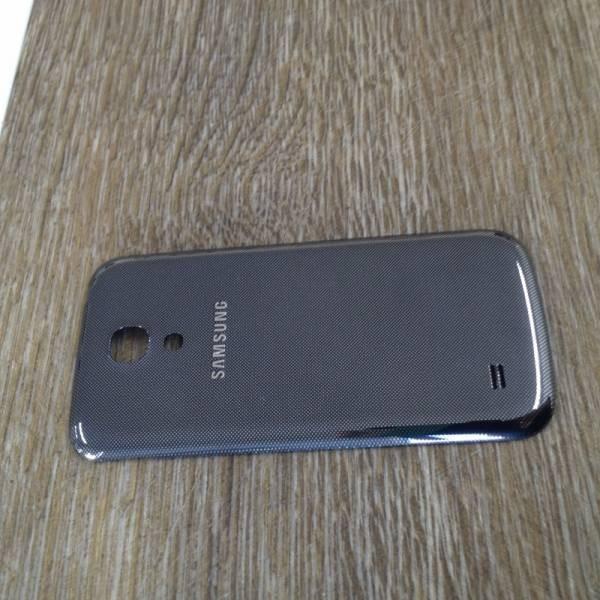 Gebrauchte Akkudeckel / Batterie Abdeckung in schwarz für Samsung Galaxy S4 Mini i9190 / i9195