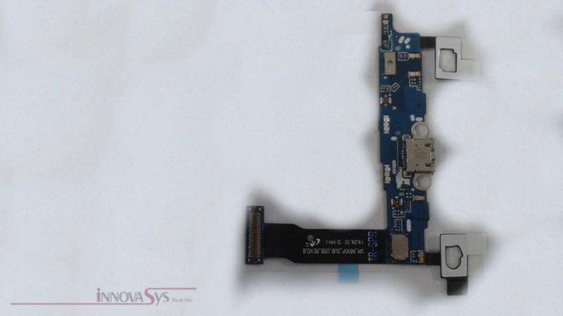 Ladebuchse USB Connector inkl. Mikrofone für Samsung Galaxy Note 4 N910 P