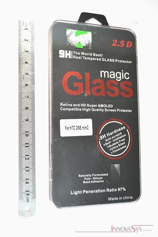 Panzer Glas / Display-Schutzglas 9H für HTC One Mini 2