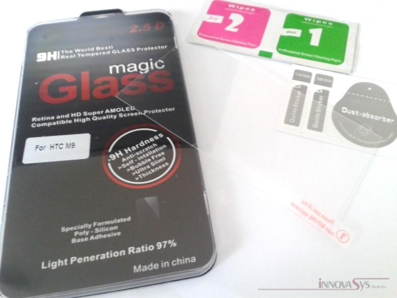 Panzer Glas / Display-Schutzglas 9H für HTC One M9