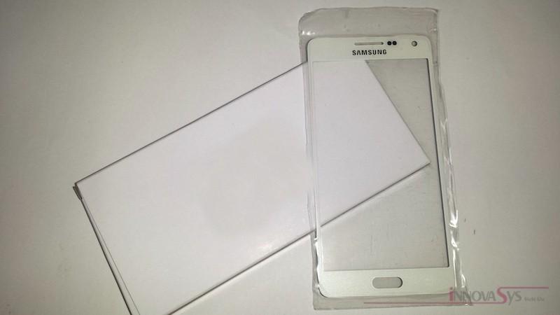 Frontscheibe für Samsung Galaxy A5 (A500F) in weiss (Pearl white)