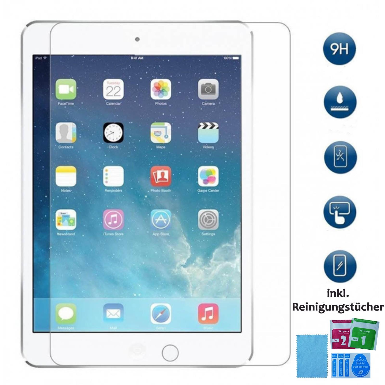 Panzer Schutzfolie für iPad 2 / 3 / 4 / Display-Schutzglas 9H HQ Premium