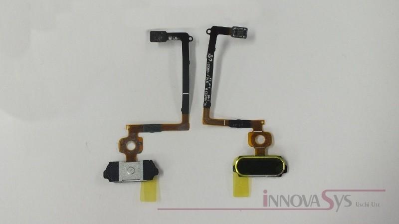 Home button Sensor flex Kabel schwarz sapphire für Samsung Galaxy  S6