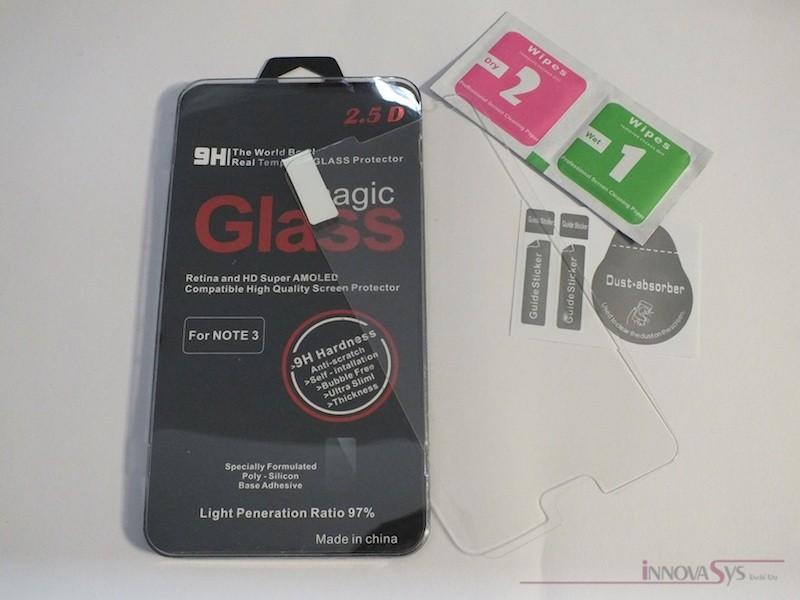 Panzer Glas / Display-Schutzglas 9H für Samsung Galaxy Note 3