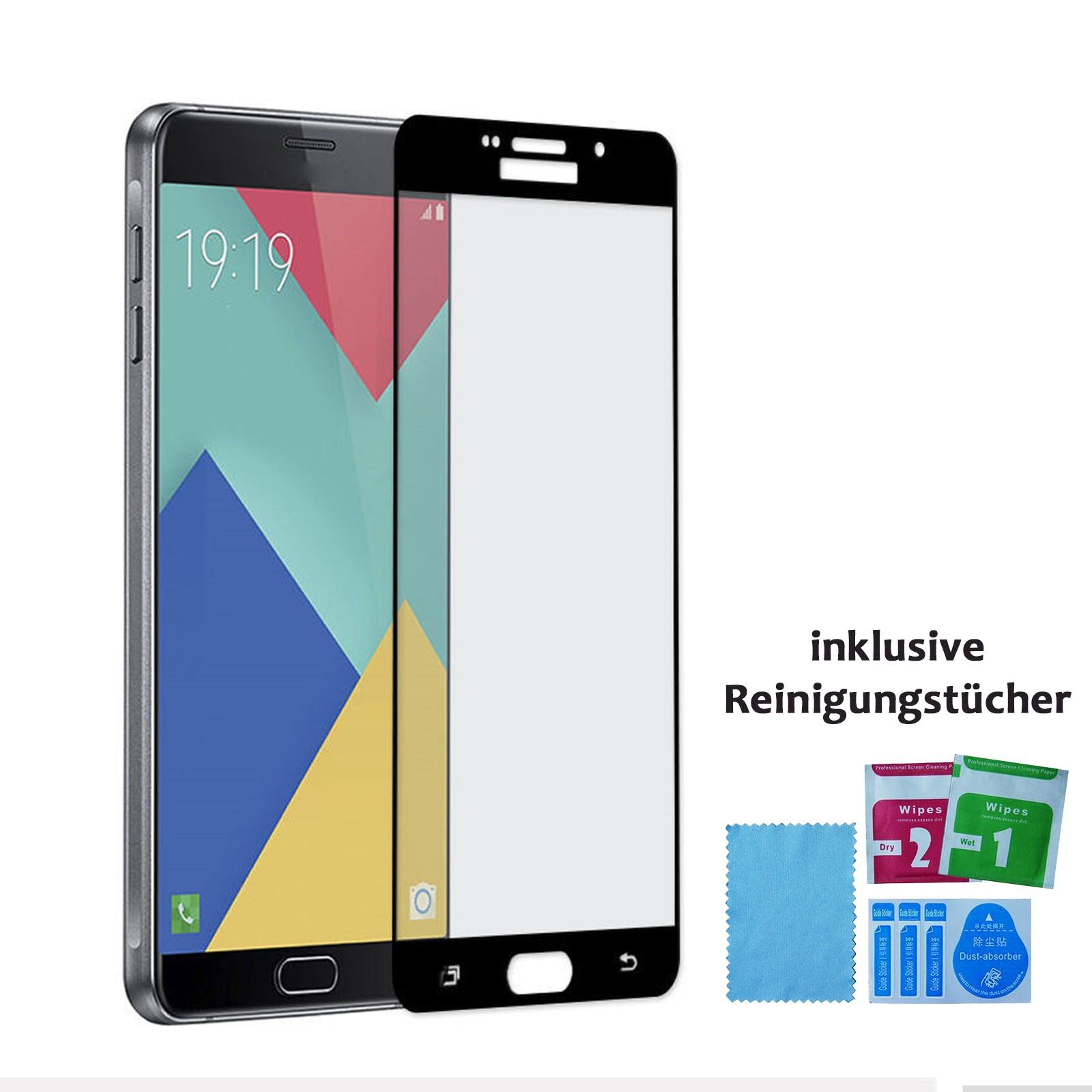 Panzer Schutzfolie 3D für Samsung Galaxy S7 / Display-Schutzglas 9H HQ Premium