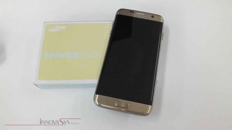 Display für Samsung Galaxy S7 Edge SM-G935F (GH97-18533C) Touchscreen + LCD in gold