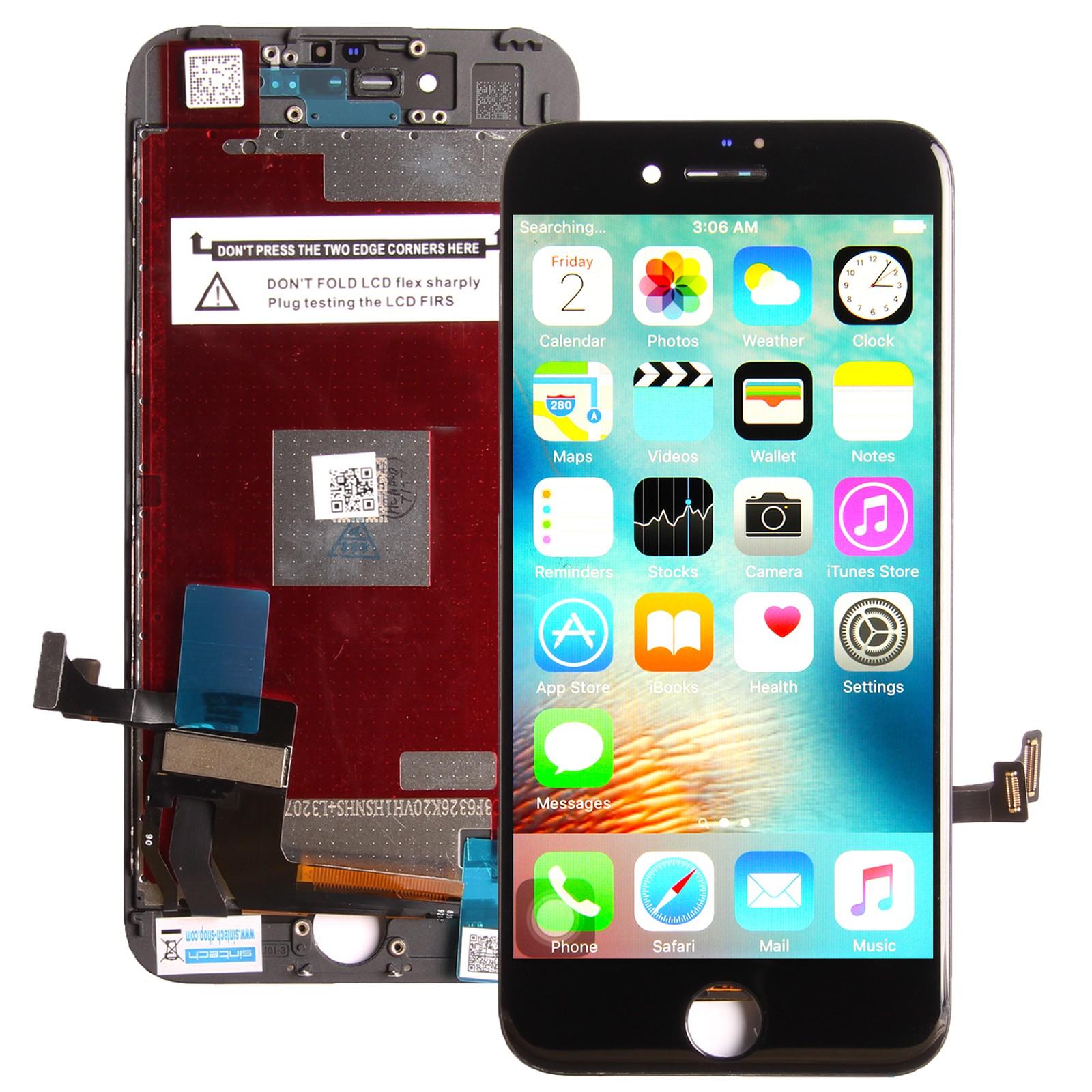 Standard Display Einheit schwarz, komplett für iPhone 7