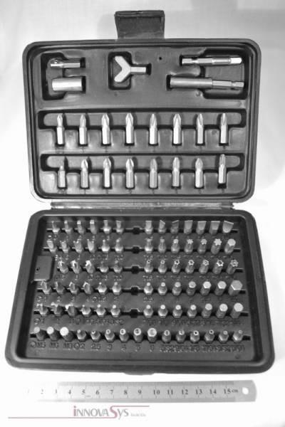 Werkzeug Tool Bits Sammlung im Koffer