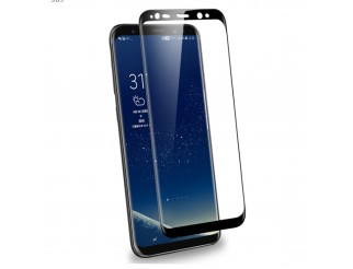 Panzer Schutzfolie 3D / Display-Schutzglas 3D 9H für Samsung Galaxy S9 HQ Premium-Qualität