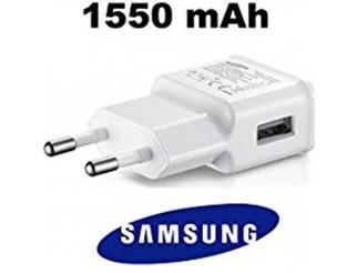 Original Samsung Ladegerät EP-TA50-1,55 Ampere - Weiss - Ladeadapter