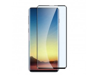 Panzer Schutzfolie 3D / Display-Schutzglas 3D 9H für Samsung Galaxy S10 HQ Premium-Qualität