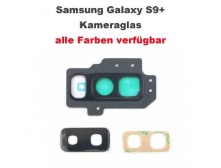 Kamera Linse (Glas) mit Rahmen (hinten) passend für Samsung Galaxy S9+ G965F