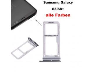 Dual Sim + SD Kartenhalter / Sim card tray passend für Samsung Galaxy S8 G950F Duos / S8+ G955F Duos