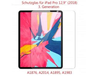 """Panzer Schutzfolie für iPad Pro3 (2018) 12,9""""  / Display-Schutzglas 9H HQ Premium"""