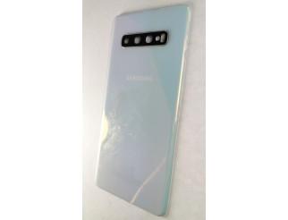 Samsung Galaxy S10 Plus  original Akkudeckel/Backcover Prism white/weiss gebraucht