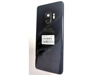 Samsung Galaxy S9 original Akkudeckel/Backcover midnight black/schwarz gebraucht SM-G950F