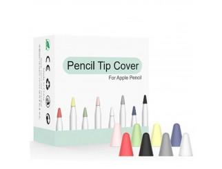 Silikon Schutzhülle (8 St.) für Stiftspitze passend für Apple Pencil + iPad Pro Stylus Touchscreen Pen