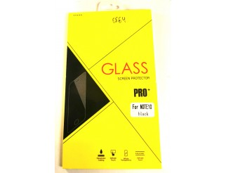 Panzer Schutzfolie / Display-Schutzglas 4D 9H für Samsung Galaxy Note 10 HQ Premium-Qualität