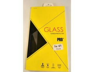 Panzer Schutzfolie / Display-Schutzglas 4D 9H für Samsung Galaxy A71 HQ Premium-Qualität