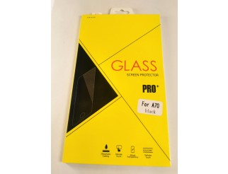 Panzer Schutzfolie / Display-Schutzglas 4D 9H für Samsung Galaxy A70 HQ Premium-Qualität