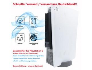 Extra Lüfter Extern Cooling Fan Cooler für Playstation 5 PS5