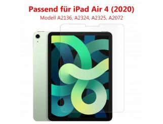 """Panzer Schutzfolie für iPad Air 4 (2020) 10,9""""  / Display-Schutzglas 9H HQ Premium"""