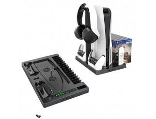 Docking Station mit Kühl- und Controller Ladefunktion passend für Playstation 5 PS5