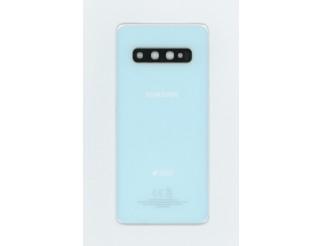 Samsung Galaxy S10 original Akkudeckel/Backcover prism white/weiß
