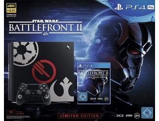 PlayStation 4 1TB Pro Limited Edition + Star Wars BF II Elite Trooper Deluxe Edition