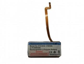 Batterie für iPod Video 60-80GB/iPod Classic 160GB,  850 mAh