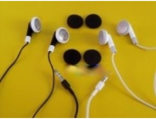 Für iPod Kopfhörer/Headphones in schwarz