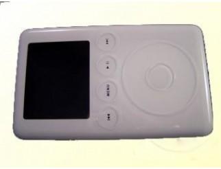 Faceplate/Oberschale in weiss für iPod 3G