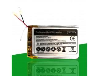 Batterie / Akku 400 mAh für iPod Nano 2G 2. Generation