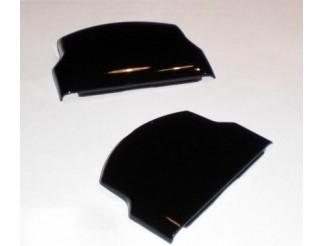 Akku / Batteriefachdeckel in schwarz für PSP slim, Doppelpack