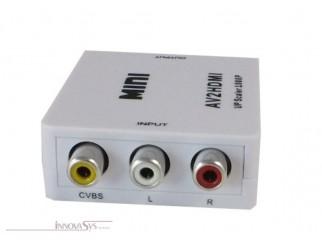 Mini AV Composite auf HDMI Konverter 1080P