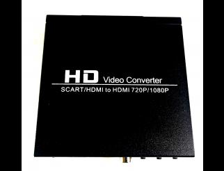 Scart auf HDMI Konverter Scaler 1080P