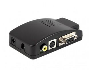 High Definition VGA Box Composite Video auf VGA