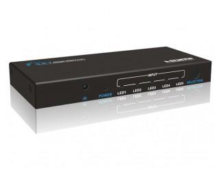 5 x 1 HDMI Switch, Anschluss für 5 HDMI-Geräte 1080P