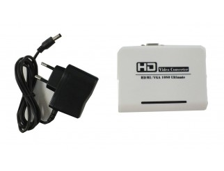 HDMI Konverter auf VGA mit 3,5mm Audiobuchse